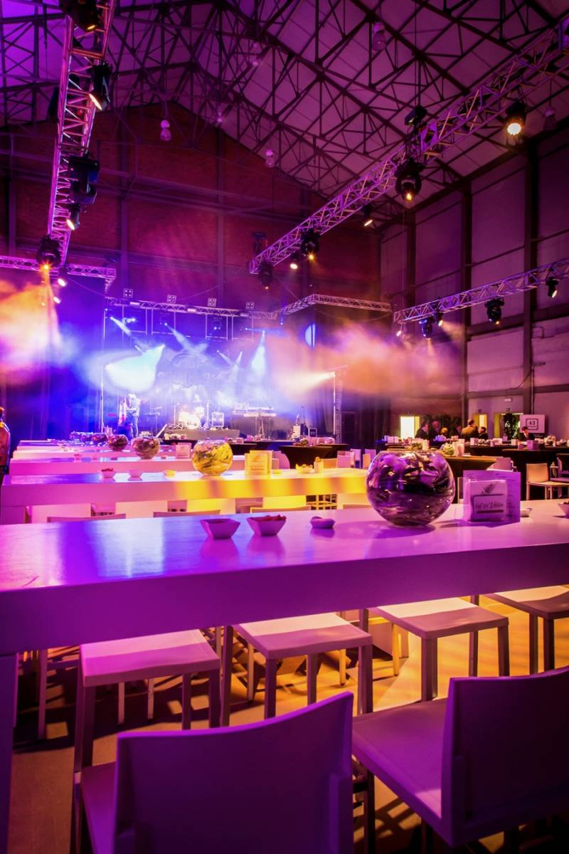 Hangar 43 - Feestzaal Oost-Vlaanderen - Industrieel - House of Weddings - 1