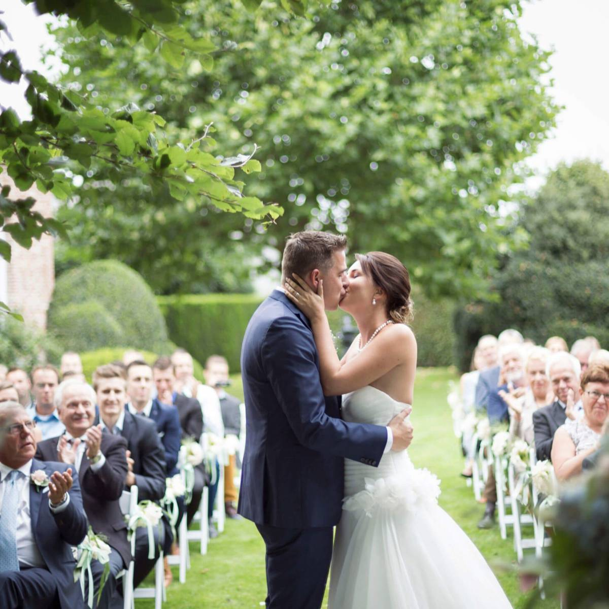 Tine De Donder - Huwelijksceremonie - Ceremoniespreker - Katleen Claes - House of Weddings 19