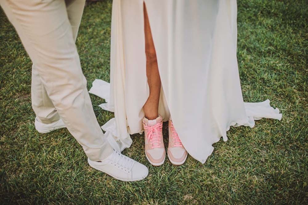 Sneakers - Sean Flanigan Photography - Green Wedding Shoes