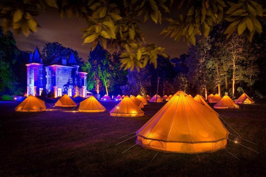 MeetMarcel - Gasten overnachten in een tent - 2 - jurgen dewitte